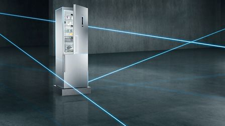 The Siemens Home Connect KG36NHI32 fridge is app controlled to keep your food at the optimum humidit