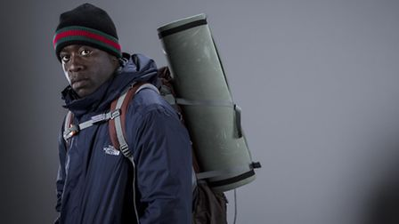 Ayo Adesina in a promo shot for Hunted. Picture Colin Hutton/ Channel 4