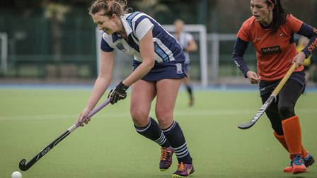 Fleur Horner scored for Hampstead & Westminster Ladies in their league defeat to Sevenoaks on Saturd