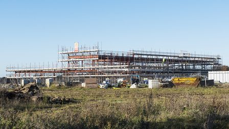 The Limes Primary Academy is being built on Lime Avenue in Oulton. Picture: Nick Butcher.
