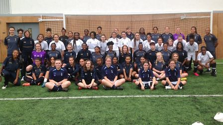 Students from Barnet & Southgate, Epping Forest and Hertfordshire Regional colleges played at Spurs