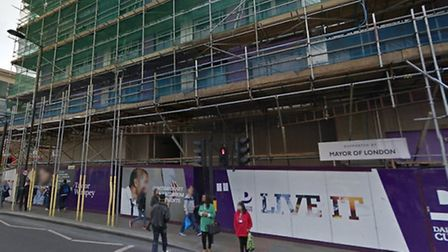 Dalston's Eastern Curve development could be getting a Byron. Picture: Google Maps