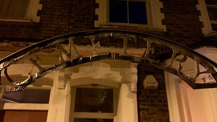 George Lammiman's Halloween party transformed his Stoke Newington house into a 'cemetery' for the ni