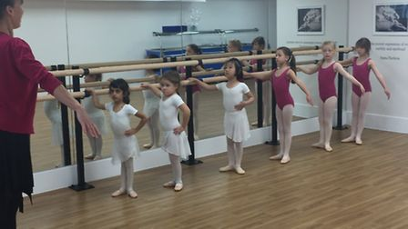 Pupils at St Anthony's School for Girls are following in former resident and prima ballerina Anna Pa