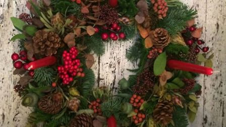Make your wreath and more in the grand setting of Burgh House