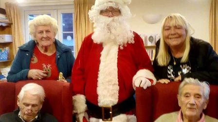 The Taylor High Memorial Fund brought some festive cheer to residents of Lilac Lodge and Lavender Co