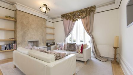 The property is available furnished or unfurnished
