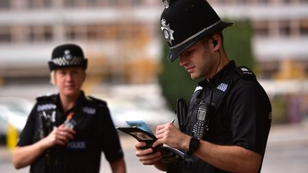 Suffolk police stock image. Picture: SARAH LUCY BROWN