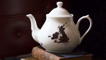 Ali Miller's bone china is inspired by history and literature