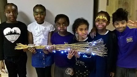 Children from the Kingsmead estate worked with Immediate Theatre to put on the Christmas production