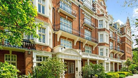 Game of Thrones actor Diana Rigg had to evict David Bowie from a flat in this Maida Vale block