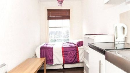 This was the cheapest flat in Camden