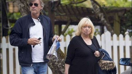 Richard and Judy and their copy of Ham & High Property