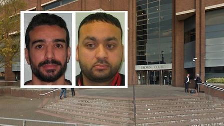 Emrah Yildiz (left) from Haggerston, one of 19 car insurance scam fraudsters along with gang-leader