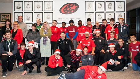 Youngsters from all over north London, including Hampstead and Finchley, attended the Saracens Sport