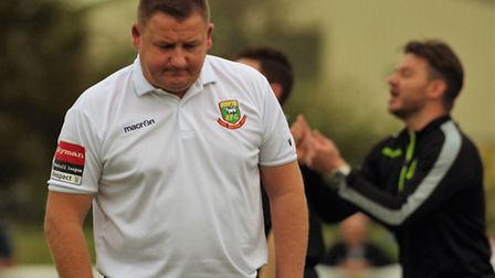 Hendon manager Gary McCann. Picture: DBeechPhotography