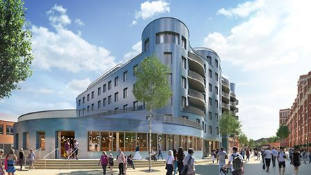How the former post office site should look when completed