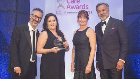 Broadlands care home in Oulton Broad, Lowestoft won The Dignity and Respect Care Home of the Year Aw