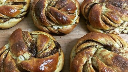 A selection of the Charles Bakery kanelsnurrer