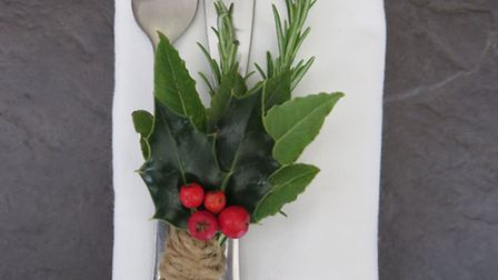 Natural Place Settings. PA Photo/Rocket Gardens
