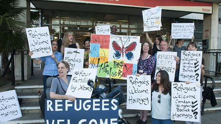 Campaign group Refugees Welcome Haringey have fought long and hard for Haringey to take Syrian refug