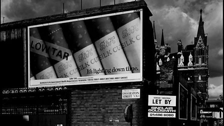 St Pancras Station from Euston Road, 1981, from David Bailey's NW1