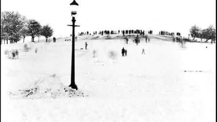 Primrose Hill, 1981, from David Bailey's NW1