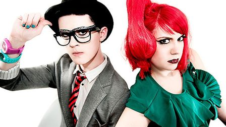 Frisky and Mannish. Picture: Idil Sukan