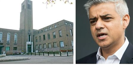 London Mayor Sadiq Khan said he is unable to intervene to stop the sale of Hornsey Town Hall in Crou