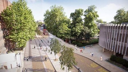 What CS11 could look like were it to go ahead Picture: TfL