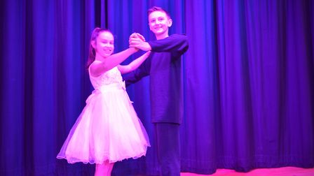 Rehearsals are under way for Christmas Spectacular at Benjamin Britten Music Academy, Lowestoft. Pic
