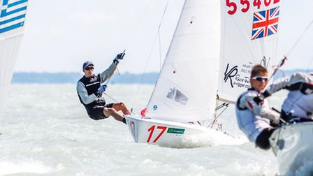 Douglas Brierley from University College School Hampstead, has been selected for the Royal Yachting