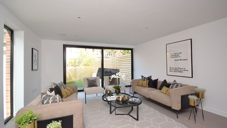 The homes at Pinnacle have all been finished to a high specification by JAMM Living
