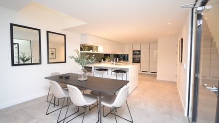 Once a carpark and dogging hotspot, Pinnacle has transformed the site into high spec homes with swis