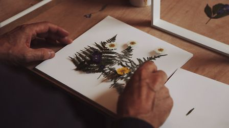 A flower pressing workshop at Ro Co's Tufnell Park shop makes for an original gift