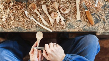 Nothing says 'I love you' like a few hours spent whittling a wooden spoon