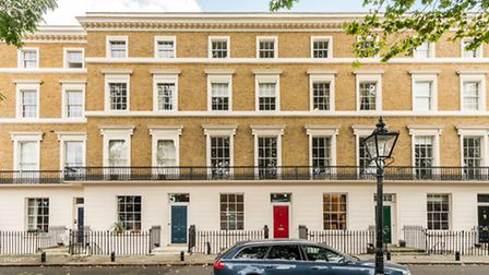 This five-bedroom Georgian terrace near Primrose Hill is an impeccably styled family home