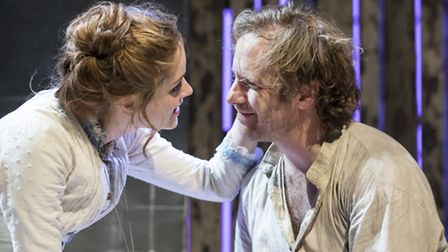 WILD HONEY by Checkhov, Hampstead Theatre. Credit: Johan Persson