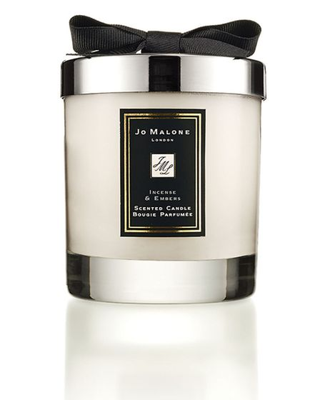 Incense and Embers candle, £42, available from Jo Malone. PA Photo/Handout