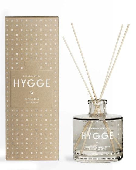 Hygge 200ml scent diffuser, £35, available from Printer and Tailor. PA Photo/Handout