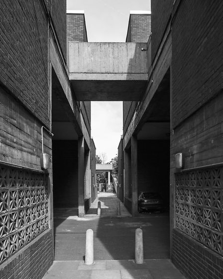 The Ingestre Road Estate in kentish Town, NW5, was designed by John Green and completed in 1971