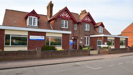 The former Southwold Hospital will be transformed into a community hub. Picture: Nick Butcher