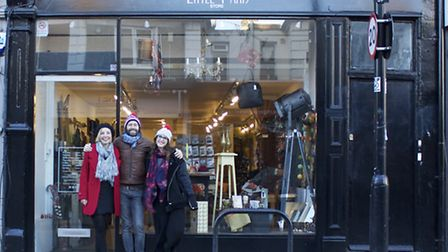 Geraldine, Nicolas and Marie-Catherine of Little Paris in Crouch End
