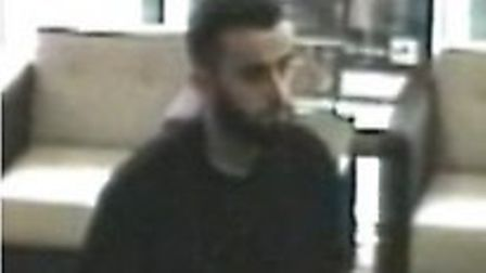 Man in bank before pensioner robbed