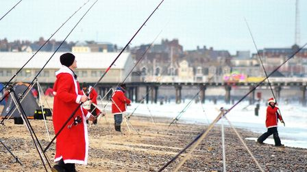 Fishing for Wishes returned to Lowestoft South beach. Pictures: MICK HOWES