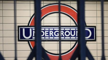Tube stations across London are closed today because of a strike Picture: Anthony Devlin/PA