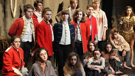 Students at Portland Place School put on a production of Our Country's Good for their first upper sc