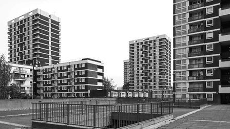The De Beauvoir Estate. Picture: Simon Phipps / Extracted from Brutal London by Simon Phipps.