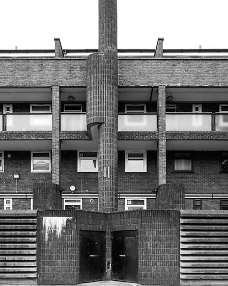 The Arden Estate. Picture: Simon Phipps / Extracted from Brutal London by Simon Phipps.