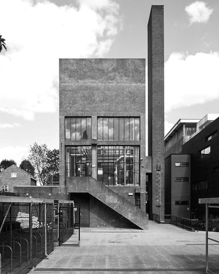 Clissold Park School. Picture: Simon Phipps / Extracted from Brutal London by Simon Phipps.